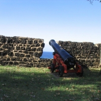Canon at 2 -Gun Battery - Pigeon Island
